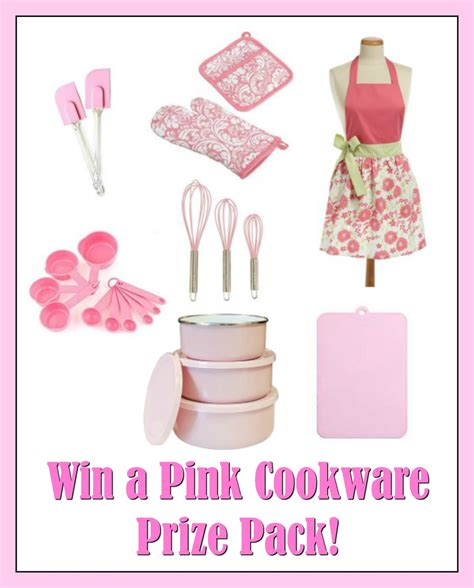 pink prize cancer cookware breast awareness month win pack