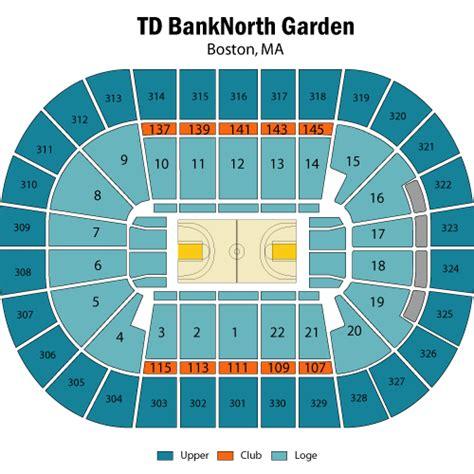 seating boston celtics tickets