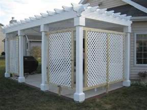 White Lattice Picture Idea Installing Screen Porch Window Inserts