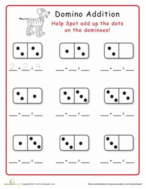 Domino Addition!  Worksheet Educationcom