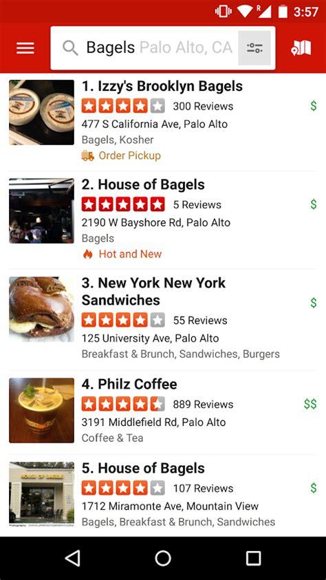 application cuisine android yelp aplicaciones de android en play