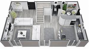 plan maison 100m2 With plan maison moderne 100m2