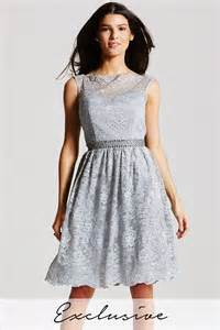 fit and flare wedding dress grey lace fit and flare dress from uk