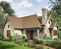 cottage house designs 2 Bed Tiny Cottage House Plan - 69593AM | 1st Floor Master ...