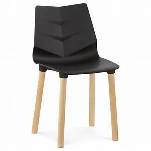 Chaise Scandinave Noir : chaise design scandinave suede noir ~ Teatrodelosmanantiales.com Idées de Décoration