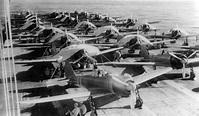 Zuikaku crewmen service aircraft on Carrier during World ...