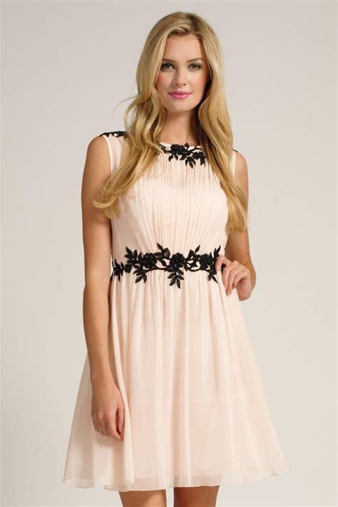 lace applique black floral lace applique chiffon dress