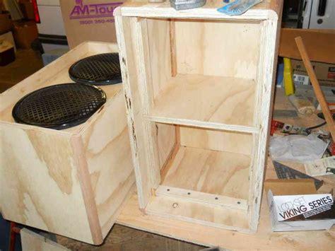 bass cabinet design speaker box designs