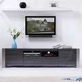 "B-Modern BM-100-GRY Composer 79"" Contemporary TV Stand in ..."