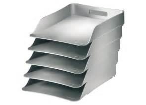 conteneur porte documents de bureau couleur argent how silver nava