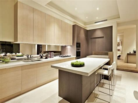 modern kitchen with island modern island kitchen design wood panelling kitchen photo 240629