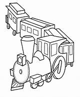 Coloring Pages Train Trains Printable Toy Thomas sketch template