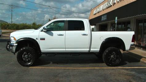 cummins truck white http www awtoffroad com wp content uploads lifted white