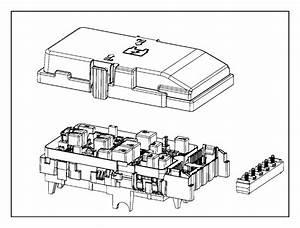 Chrysler 200 Power Distribution Center  Intelligent Power