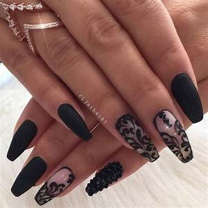 The 25+ best Matte black nails ideas on Pinterest | Matt ...