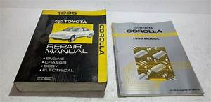 1995 Toyota Corolla Service Repair Manual  U0026 Electronic