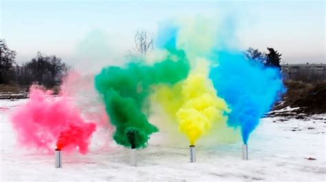 color smoke bomb how to make colored smoke