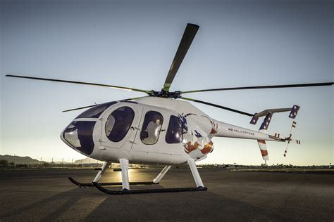 MD Helicopters Debuts MD 6XX Concept Aircraft at HAI Heli ...