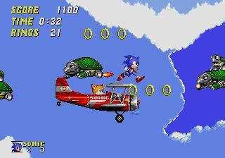 sonic  hedgehog  screenshots  genesis mobygames
