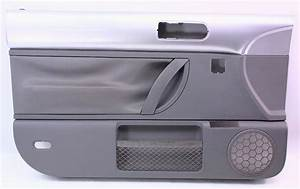 Driver Front Door Panel 98-05 Vw Beetle - Interior Trim   Grey