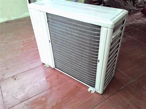 kurang sejuk   asas servis aircond  sendiri
