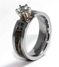 camouflage wedding ring sets camo wedding ring sets for wedding and bridal inspiration