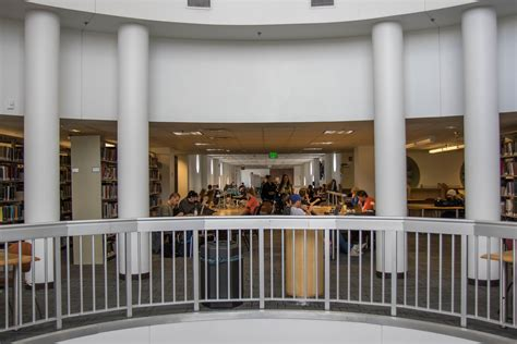 Csu Student Finds Peace And Quiet In The Morgan Library