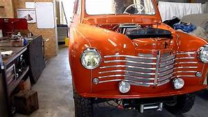 4x4 Renault Pick Up : premier essai de roulage pour un renault prairie 4x4 1952 youtube ~ Maxctalentgroup.com Avis de Voitures
