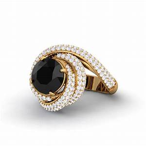 black diamond diamond women39s twisted engagement ring 14k With womens black diamond wedding rings