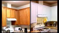 paint for cabinets Paint Cabinets White For Less Than $120 - DIY Paint Cabinets - YouTube