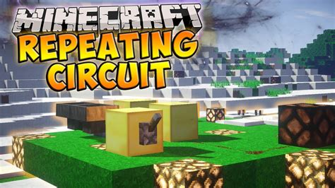 Minecraft How Make Repeating Redstone Circuit