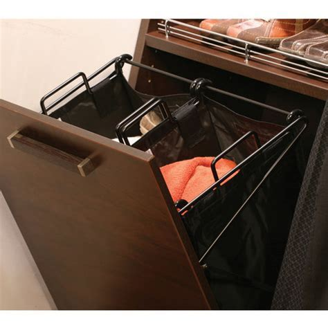 """Laundry   Hafele ''Synergy"""" Collection Tilt Out Hampers"""