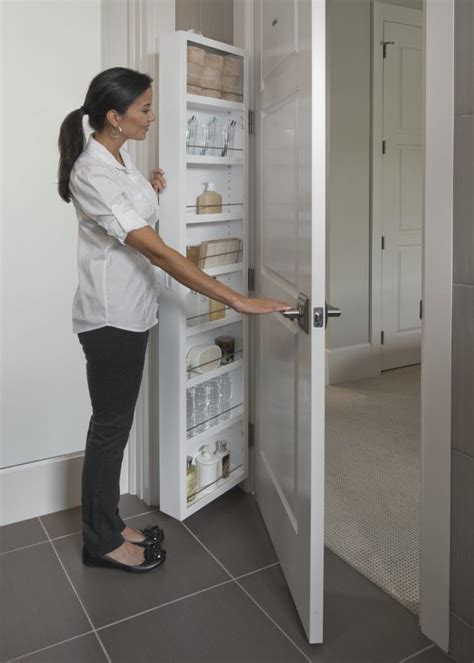behind door storage cabinet hinge mounted 10 ideas for organizing your stuff the three tomatoes