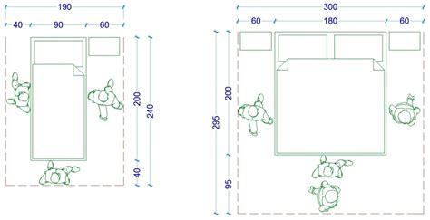 Dimensioni Minime Da Letto Matrimoniale - le misure dell uomo nell abitazione la da letto