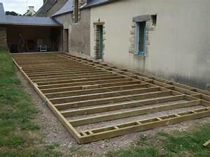 Terrasse Bois Sur Terre : terrasse bois construire nos conseils ~ Dailycaller-alerts.com Idées de Décoration