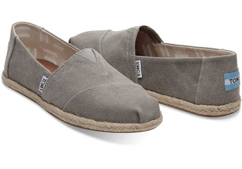 size 6 toddler shoes drizzle grey washed canvas 39 s espadrilles toms