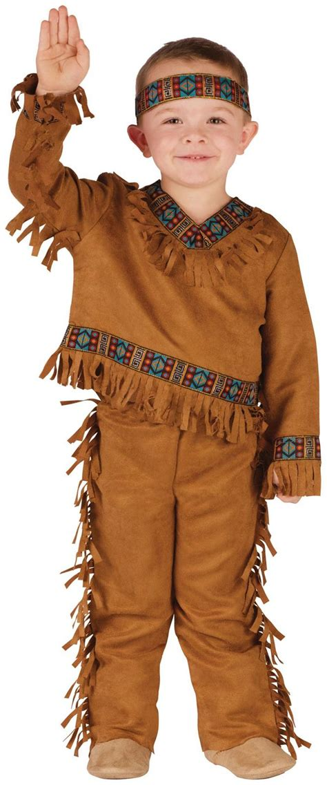 Native American Toddler Male Costume - PartyBell.com