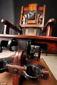 old sparky electric chair which executed 315 death row