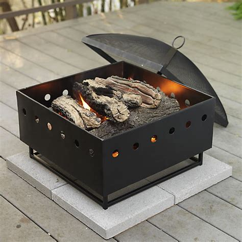 portable pit for cing portable firepits uniflame 24 inch black portable pit