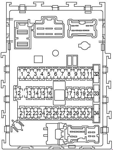 nissan sentra 2000 2006 fuse box diagram auto genius
