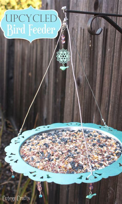 upcycled bird feeder cutesy crafts