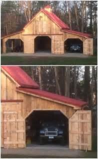 Pole Barn Design Garage Workshop Plan