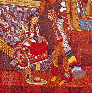 diego rivera rockefeller mural analysis popular history of mexico encyclopedia children