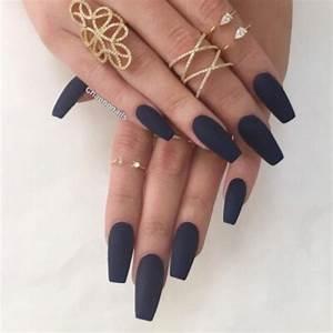 matte acrylic nails   Tumblr
