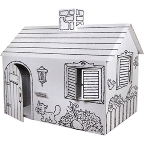 cardboard house to color gifts for that inspire the imagination