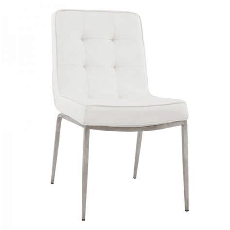 chaises blanches simili cuir chaises blanches simili cuir chaises blanches simili cuir 28 images davaus chaise cuisine