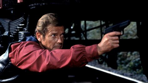 roger moore walls magnum octopussy 1983 movie review cinefiles movie reviews