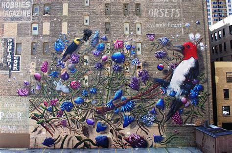explosive  mural  paintings  collin van der