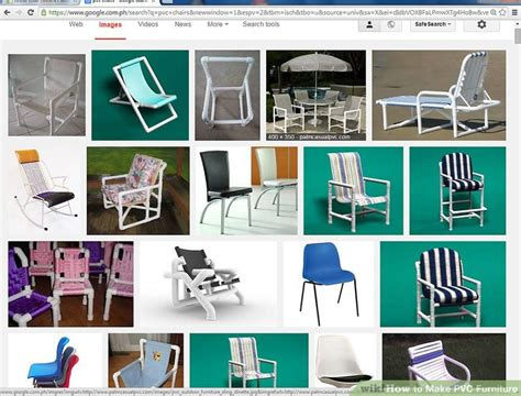 pvc furniture  steps  pictures wikihow