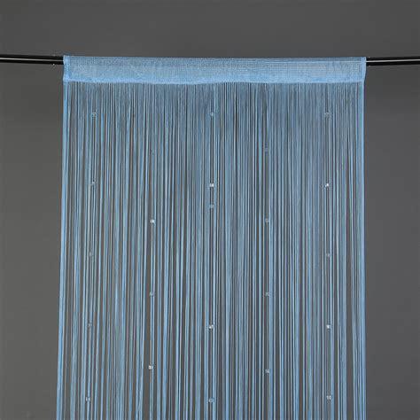 beaded string curtain door divider tassel